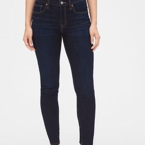 GAP 1969 True Skinny Dark Wash Denim Jeans